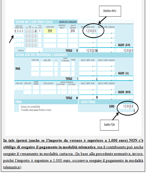 Agenzia delle entrate f24 imu top agenzia delle entrate for F24 elide istruzioni